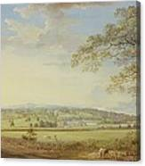 Whatman Turkey Mill In Kent Canvas Print