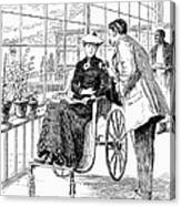 Wheelchair, 1886 Canvas Print