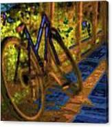 Wheels At Rest Canvas Print