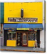 Whelans Smoke Shop On Bancroft Way In Berkeley California  . 7d10168 Canvas Print