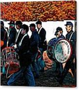 When Johnny Comes Marching Home Canvas Print