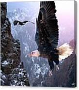 Where Eagles Dare Canvas Print