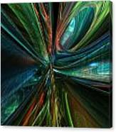 Where Tech Meets Digital Abstract Fx  Canvas Print