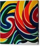 Whirly Pop 2 Canvas Print