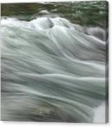 Whisping Water Canvas Print