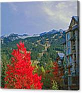 Whistler Red Canvas Print