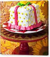 White Cake Canvas Print