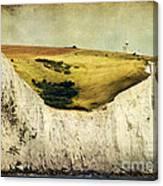 White Cliffs Lighthouse Canvas Print
