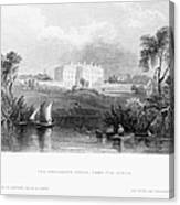 White House, 1839 Canvas Print