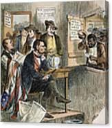 White League, 1874 Canvas Print