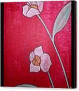 White Lotus Top Canvas Print