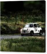 White Mini Innocenti Austin Morris Canvas Print