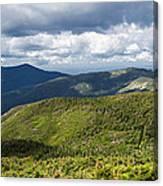 White Mountains New Hampshire Panorama Canvas Print