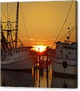 White Oak Sunrise Canvas Print