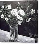 White Ramblers  Canvas Print