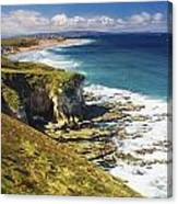 White Rocks, Portrush, Co Antrim Canvas Print