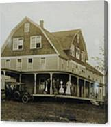 White Roe Boarding House-owner E Keene Prior To My Grandfather. Circ 1900s Canvas Print