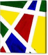 White Stripes 3 Canvas Print