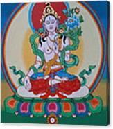 White Tara Canvas Print