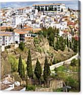 White Town Of Ronda Canvas Print