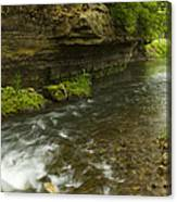 Whitewater River Spring 6 Canvas Print