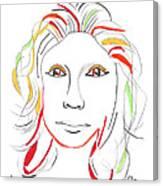 Whitney Houston A Memory Canvas Print