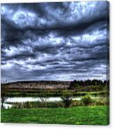 Wicked Wave Clouds Canvas Print