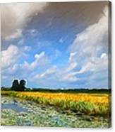 Wide Country Canvas Print