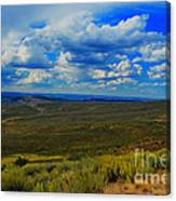 Wide Open Wyoming Sky Canvas Print