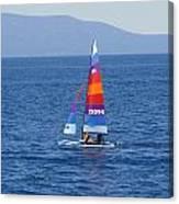 Wide Sail Canvas Print