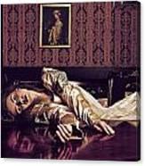 Widow Duchess Canvas Print
