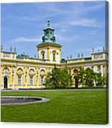 Wilanow Palace - Warsaw Canvas Print