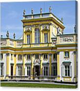 Wilanow Palace And Museum - Poland Canvas Print