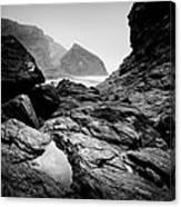 Wild Coast Canvas Print