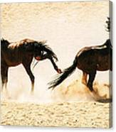 Wild Dust Canvas Print