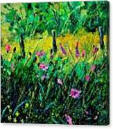 Wild Flowers 451190 Canvas Print