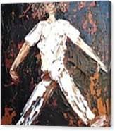Wild Haired Dancer Canvas Print