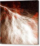 Wild Lightning  Canvas Print