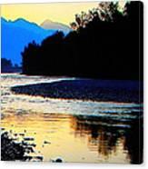 Wild Mountain Nature Canvas Print