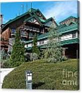 Wilderness Lodge Resort Beach Walt Disney World Prints Poster Edges Canvas Print