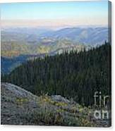 Wilderness View Canvas Print
