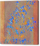 Wildflower Art Canvas Print