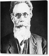Wilhelm Roentgen, German Physicist Canvas Print