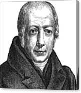 Wilhelm Von Humboldt Canvas Print