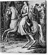 Wilhelmina Of Prussia Canvas Print