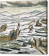 Willem Barents (c1550-1597) Canvas Print