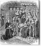 William Caxton (c1421-1491) Canvas Print