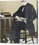 William Cullen Bryant, American Poet Canvas Print