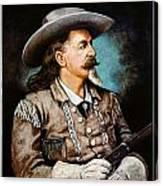 William F. Cody Canvas Print