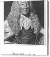 William Murray (1705-1793) Canvas Print